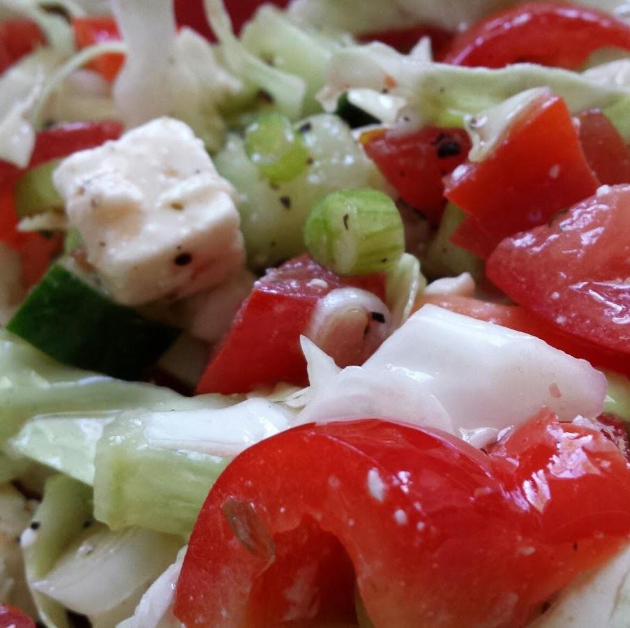 Mama's Griekse salade