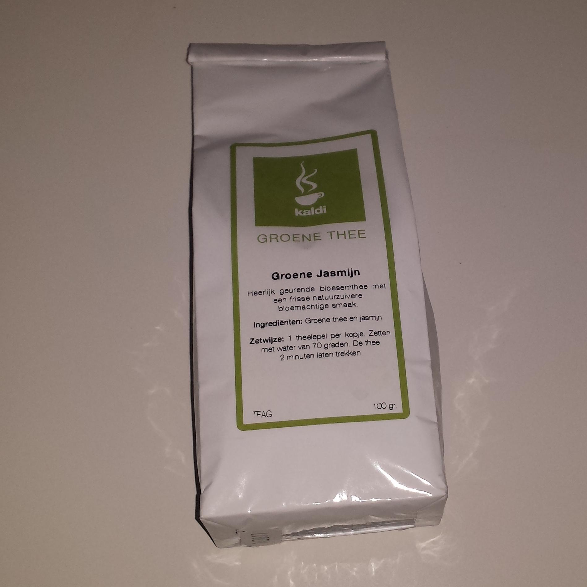 Winactie: Groene Jasmijn van Kaldi