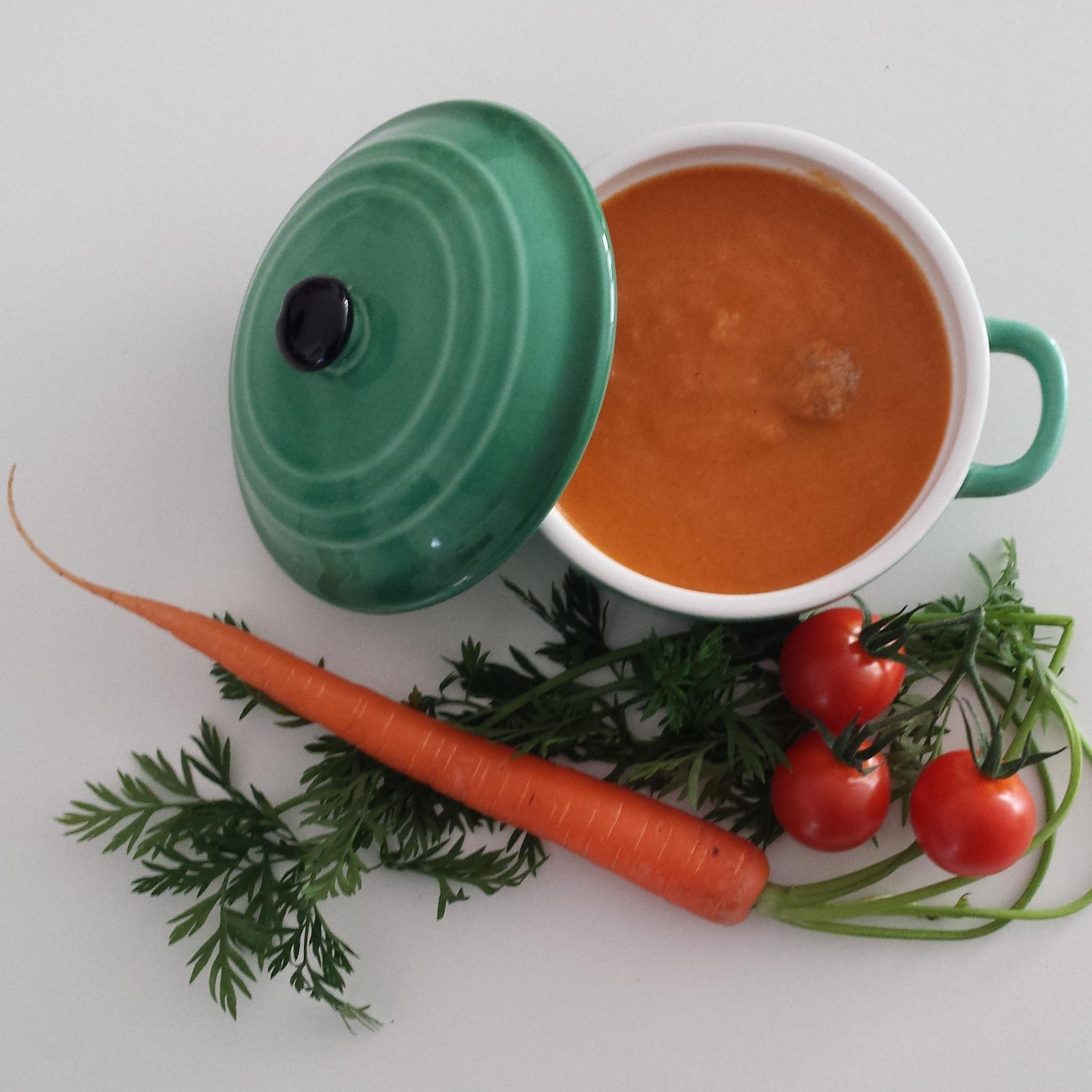 Winterse tomatensoep