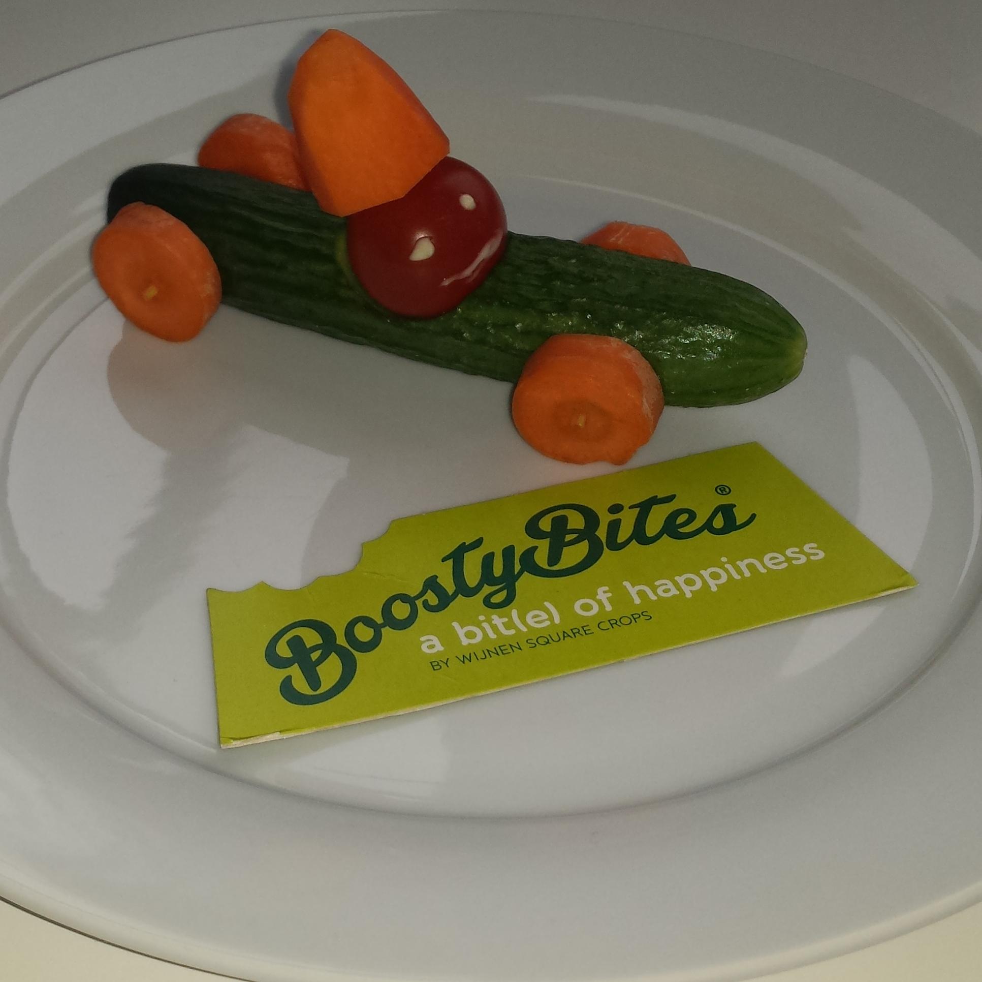 Creatief met komkommer